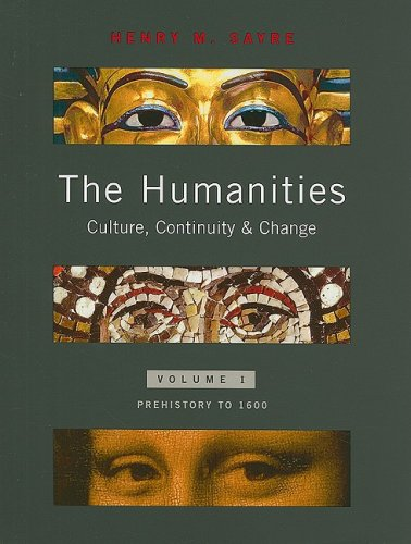 9780205638246: The Humanities: Culture, Continuity, and Change, Volume 1 Reprint