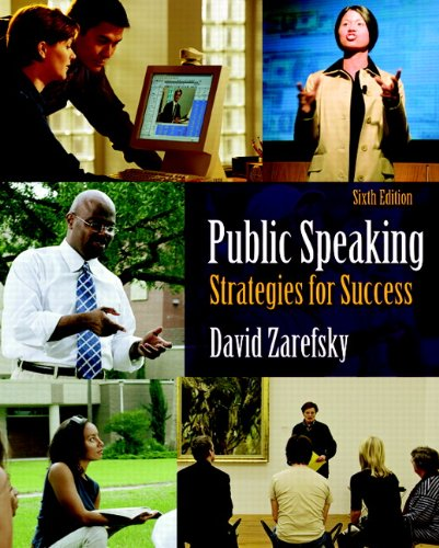 9780205638321: Public Speaking: Strategies for Success (6th Edition)