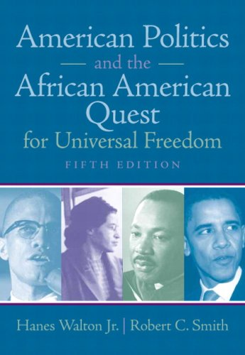 9780205638369: American Politics and the African American Quest for Universal Freedom (5th Edition)