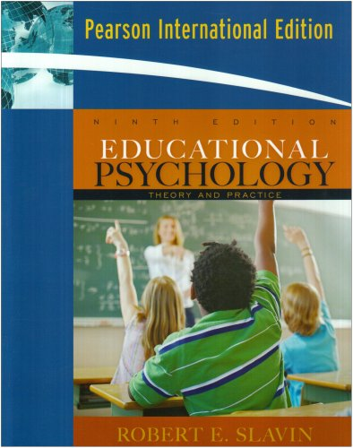 9780205638604: Educational Psychology: Theory and Practice: International Edition