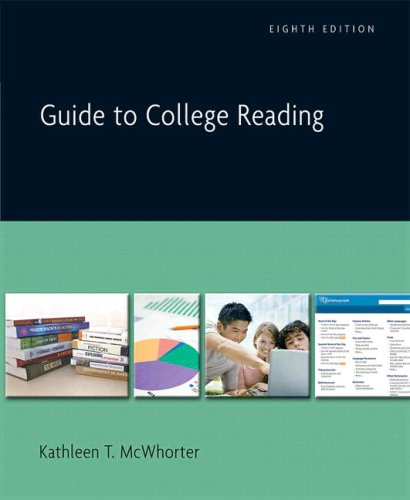 9780205639441: Guide to College Reading (with MyReadingLab) (8th Edition)