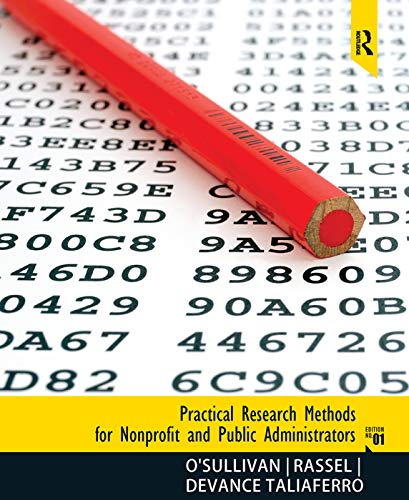 9780205639465: Practical Research Methods for Nonprofit and Public Administrators
