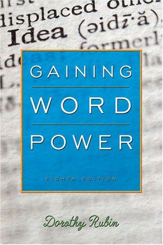 9780205642281: Gaining Word Power (8th Edition)