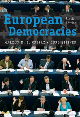 9780205642571: European Democracies (6th Edition)