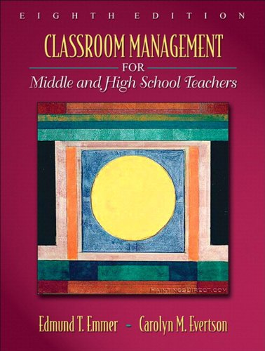 9780205643172: Classroom Management for Middle and High School Teachers (with MyEducationLab) (8th Edition)