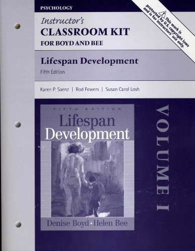 Instructor's Classroom Kit for Boyd and Bee: Karen P. Saenz,