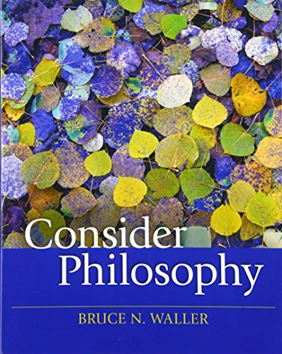 9780205644223: Consider Philosophy