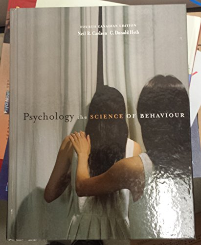 9780205645244: Psychology : The Science of Behaviour