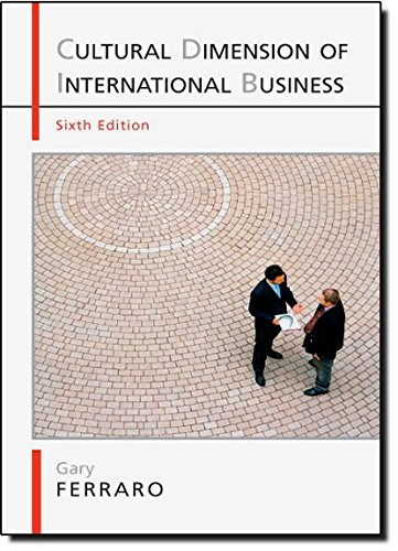 9780205645282: The Cultural Dimension of International Business