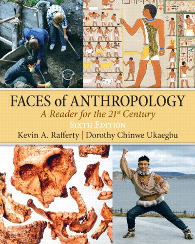 9780205645329: Faces of Anthropology (6th Edition)