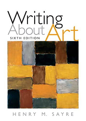 9780205645787: Writing About Art (6th Edition)