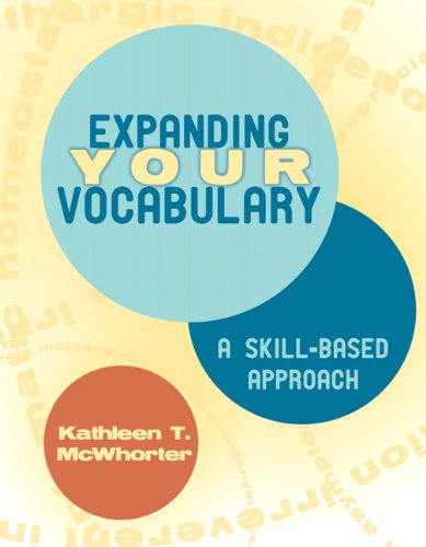 Expanding Your Vocabulary: Kathleen T. McWhorter