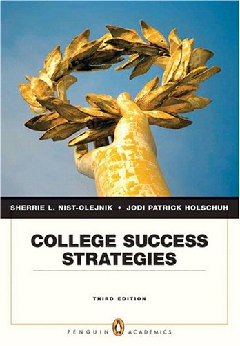 9780205646340: College Success Strategies (3rd Edition)
