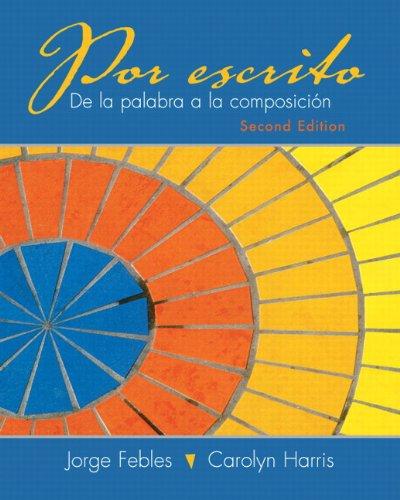 9780205646982: Por escrito (2nd Edition)