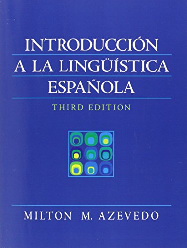9780205647040: Introduccion A La Linguistica Espanola (3rd Edition) (Spanish Edition)