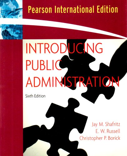9780205647309: Introducing Public Administration