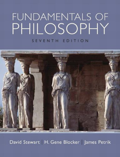 9780205647620: Fundamentals of Philosophy (7th Edition)