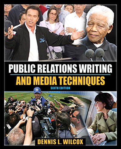 9780205648283: Public Relations Writing and Media Techniques (6th Edition)