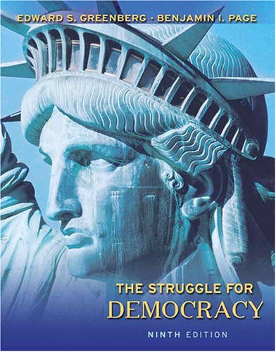 9780205648467: the struggle for democracy, 9th edition abebooks.
