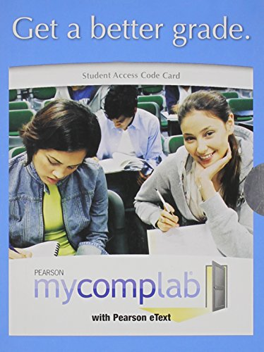 9780205648603: MyCompLab with Pearson eText -- Valuepack Access Card