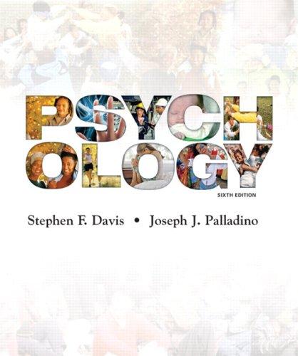 Psychology (6th Edition): Stephen F. Davis,