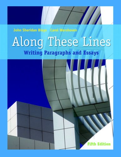 9780205649297: Along These Lines: Writing Paragraphs and Essays (5th Edition)