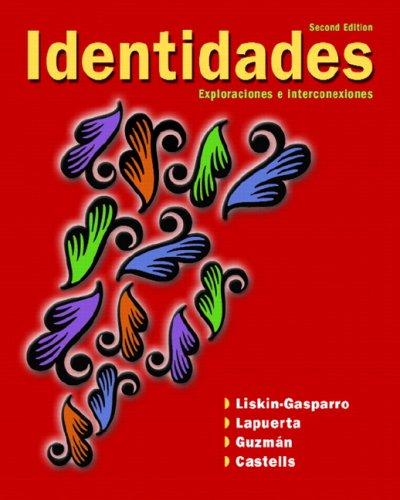 Identidades Value Pack (Includes Myspanishlab Headset Coupon: Judith E. Liskin-Gasparro,