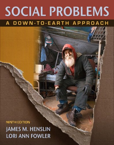9780205649754: Social Problems: A Down-to-Earth Approach (9th Edition)