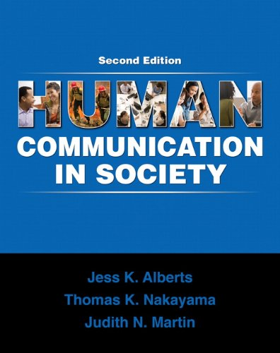 9780205650804: Human Communication in Society