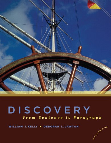 9780205651580: Discovery: From Sentence to Paragraph (5th Edition)