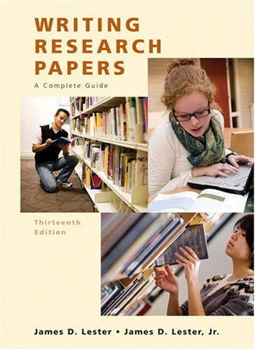 9780205651917: Writing Research Papers (Spiral) (13th Edition)