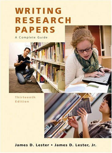 9780205651924: Writing Research Papers: A Complete Guide, 13th Edition