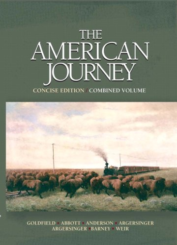 American Journey, Concise Edition, Combined Volume Value Pack (includes Atlas of United States ...