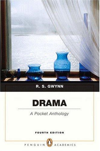 9780205654062: Drama: A Pocket Anthology (Penguin Academics) (4th Edition)