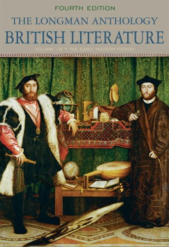 9780205655328: The Longman Anthology of British Literature, Volume 1B: The Early Modern Period (4th Edition)