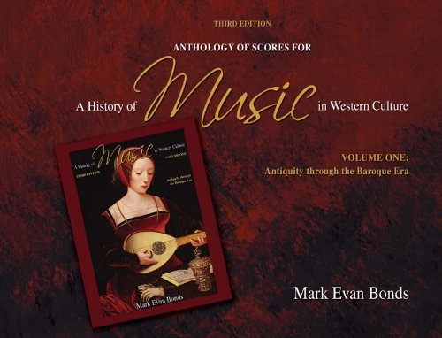 9780205656974: 1: Anthology of Scores for A History of Music in Western Culture Volume I