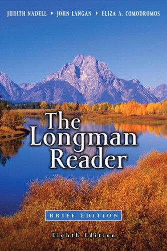 Longman Reader: Brief Edition Value Package (includes: Judith Nadell, John