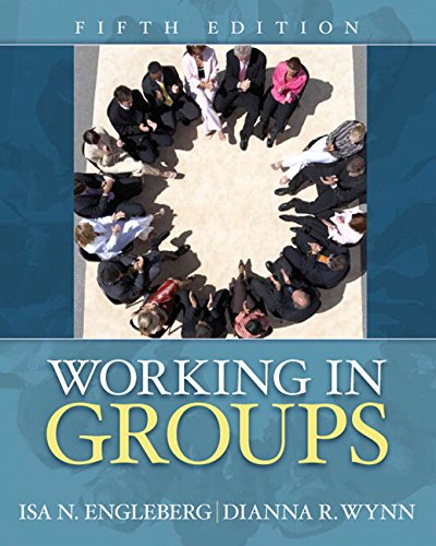9780205658824: Working in Groups (5th Edition)