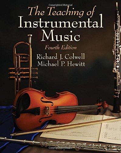 9780205660179: The Teaching of Instrumental Music