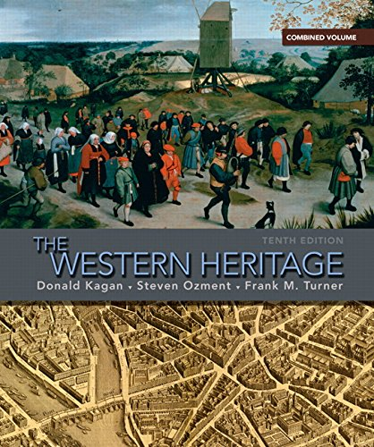 9780205660728: The Western Heritage: Combined Volume (10th Edition)