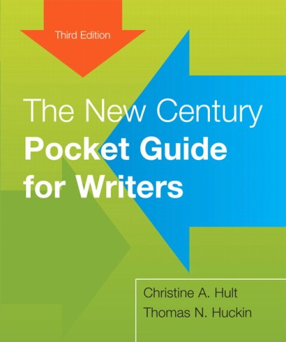 9780205661091: The New Century Pocket Guide for Writers (3rd Edition)
