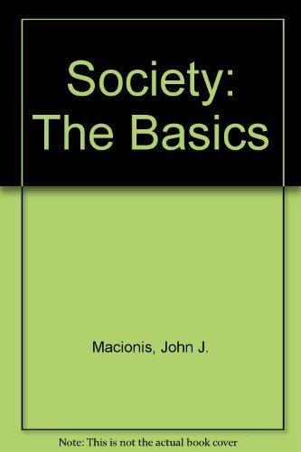 John Macionis Society Basics Books Carte AbeBooks