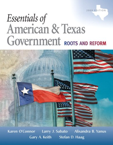 9780205662845: Essentials of American & Texas Government: Roots and Reform, 2009 Edition (3rd Edition)
