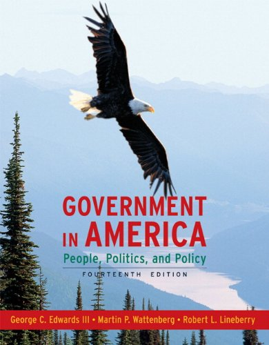9780205662890: Government in America: People, Politics, and Policy (14th Edition)