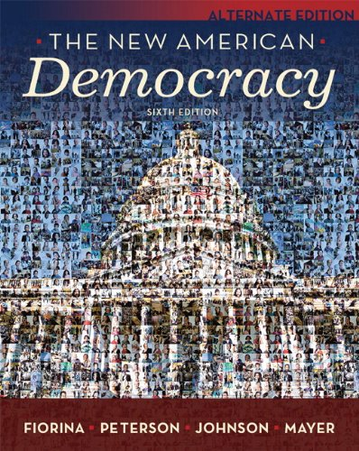 9780205662944: New American Democracy, The, Alternate Edition (6th Edition)