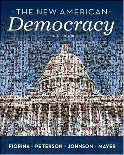 9780205662951: New American Democracy, The (6th Edition)