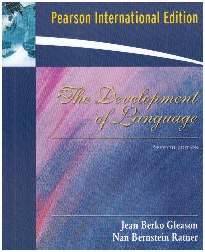 9780205663866: Development of Language