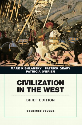 9780205664733: Civilization in the West, Penguin Academic Edition, Combined Volume