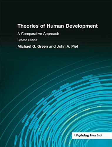 Theories of Human Development: A Comparative Approach: Green, Michael/ Piel,