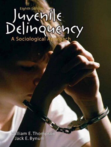 9780205665716: Juvenile Delinquency: A Sociological Approach (8th Edition)